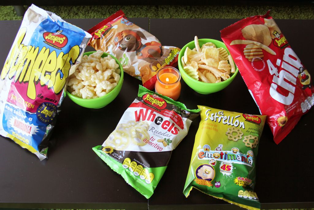 Bolsas de snacks Jumpers