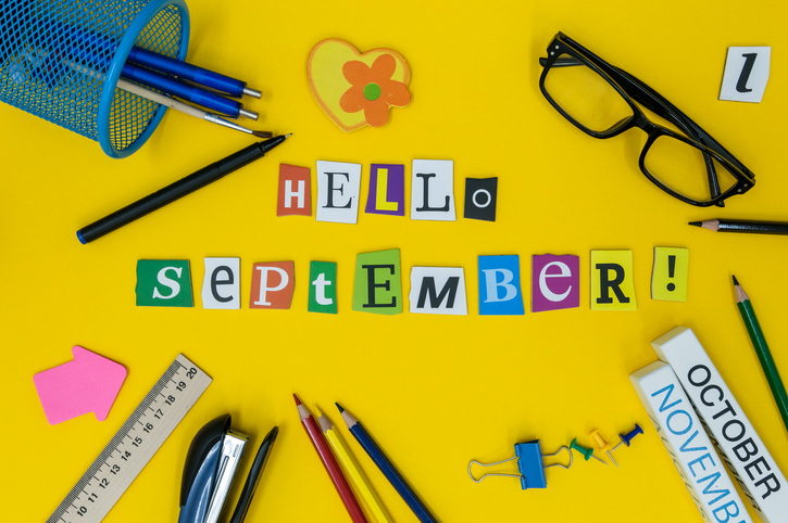 La llegada de septiembre