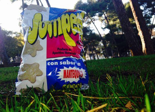 Bolsa de Jumpers en un parque